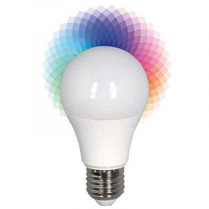Eurolamp Λάμπα Led Smart Bulb 6W E27 2700 & RGB 240V