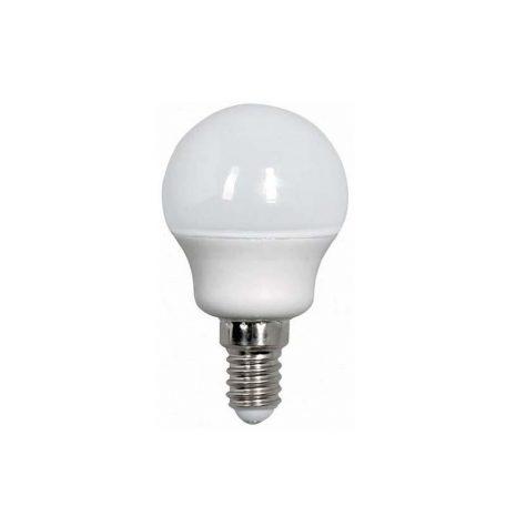 Eurolamp Λάμπα LED SMD ΣΦΑΙΡΙΚΗ 4W E14 3000K 240V