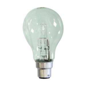 Eurolamp Λάμπα Αλογόνου ECO 30% Κοινή 42W B22 240V