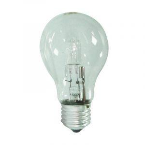 Eurolamp Λάμπα Αλογόνου ECO 30% Κοινή 53W E27 240V