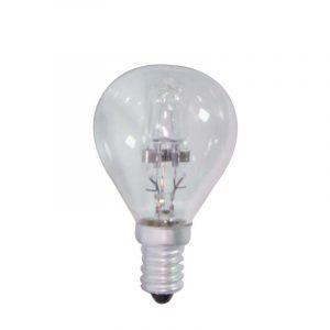 Eurolamp Λάμπα Αλογόνου ECO 30% Σφαιρική 18W E14 240V
