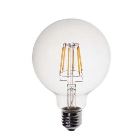 Eurolamp Λάμπα Led Γλόμπος G95 Filament 13W E27 3000K 240V