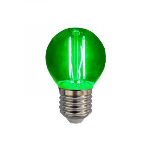 Eurolamp Λάμπα Led Σφαιρική Filament 3W E27 240V Πράσινη