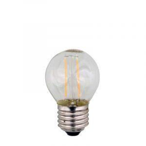 Eurolamp Λάμπα Led Σφαιρική Filament 3W E27 3000K 240V