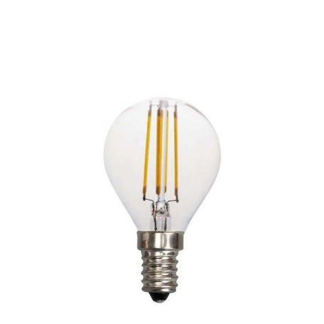 Eurolamp Λάμπα Led Σφαιρική Filament 4W E14 3000K 240V