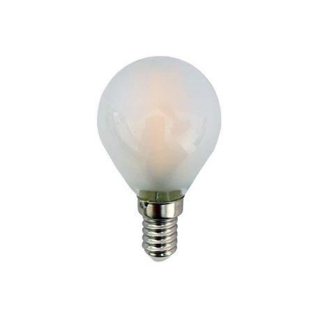 Eurolamp Λάμπα Led Σφαιρική Filament 4W E14 3000K 240V Mat
