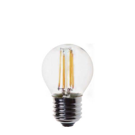 Eurolamp Λάμπα Led Σφαιρική Filament 4W E27 3000K 240V