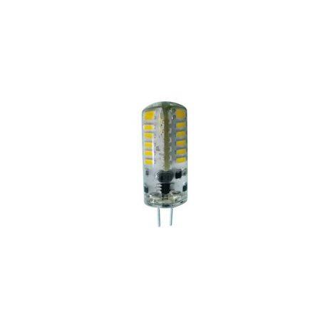 Eurolamp Λάμπα LED SMD G4 2,5W 3000K Σιλικόνης 12V AC/DC