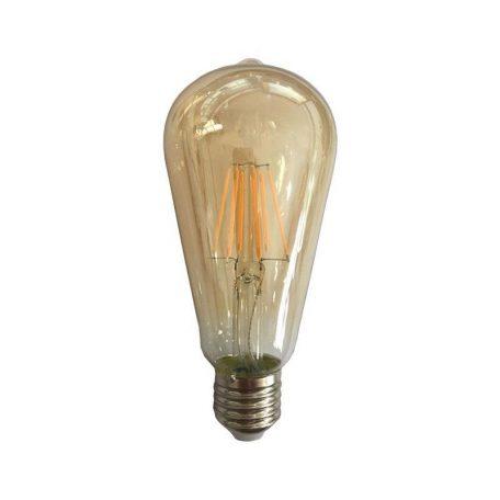 Eurolamp Λάμπα Led ST64 Dim Filament 10W E27 2400K 240V Gold