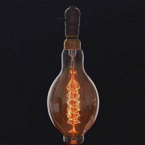 Eurolamp Λάμπα Νήματος Edison B118 60W E27 240V - elemech.gr