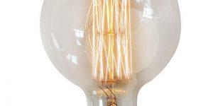 Eurolamp Λάμπα Νήματος Edison Φ125 40W E27 240V - elemech.gr