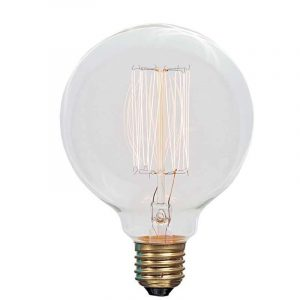 Eurolamp Λάμπα Νήματος Edison Φ95 25W E27 240V - elemech.gr