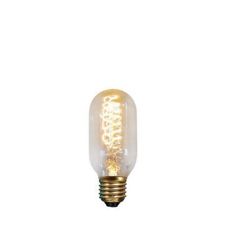 Eurolamp Λάμπα Νήματος Edison Σωληνωτή T45 40W E27 240V - elemech.gr