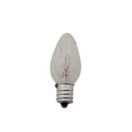 Eurolamp Λάμπα Πυράκτωσης Νυκτός Διάφανη 7W E12 240V - elemech.gr