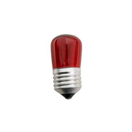 Eurolamp Λάμπα Πυράκτωσης Νυκτός Κόκκινη 2 Τεμαχίων Blister 5W E27 240V - elemech.gr