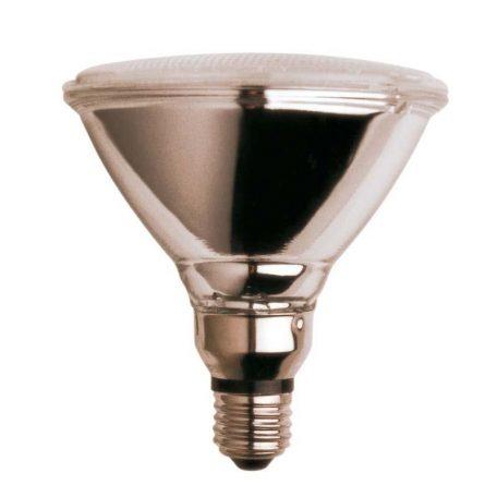 Eurolamp Λάμπα Πυράκτωσης Σκληράς Υάλου Λευκή PAR38 80W E27 42V - elemech.gr