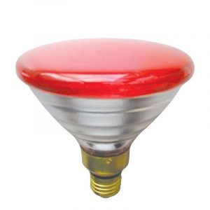Eurolamp Λάμπα Πυράκτωσης Χοιροστασίου Κόκκινη 175W E27 240V - elemech.gr