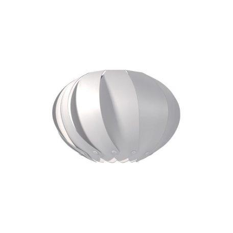 """Eurolamp Διακοσμητική Σκιάδα Φ300 Λευκή """"Palma"""" - elemech.gr"""