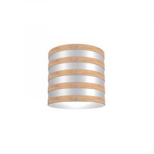"Eurolamp Διακοσμητική Σκιάδα Φ320 Δρύινη ""Milan"" - elemech.gr"