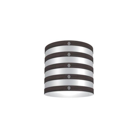 "Eurolamp Διακοσμητική Σκιάδα Φ320 Καφέ Σκούρη ""Milan"" - elemech.gr"