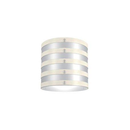 """Eurolamp Διακοσμητική Σκιάδα Φ320 Λευκή """"Milan"""" - elemech.gr"""