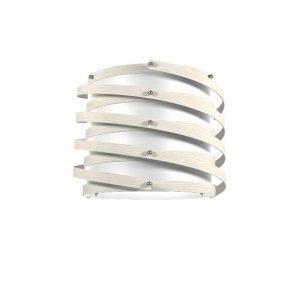 """Eurolamp Διακοσμητική Σκιάδα Φ370 Λευκή """"Rome"""" - elemech.gr"""