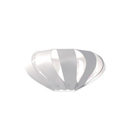 "Eurolamp Διακοσμητική Σκιάδα Φ400 Λευκή ""Cannes"" - elemech.gr"