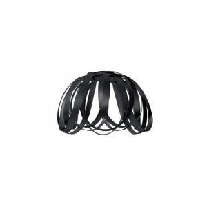 "Eurolamp Διακοσμητική Σκιάδα Φ400 Μαύρη ""Madrid"" - elemech.gr"