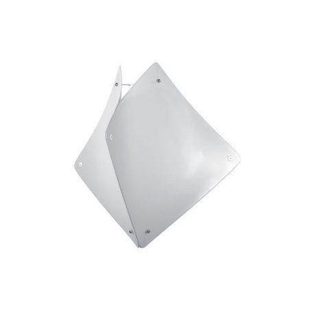 """Eurolamp Διακοσμητική Σκιάδα Φ500 Λευκή """"Zadar"""" - elemech.gr"""