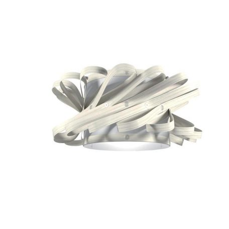 "Eurolamp Διακοσμητική Σκιάδα Φ580 Λευκή ""Majorka"" - elemech.gr"