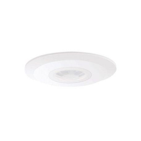 Eurolamp Επίπεδος Ανιχνευτής Κίνησης Οροφής Λευκός IP20 2000W - elemech.gr