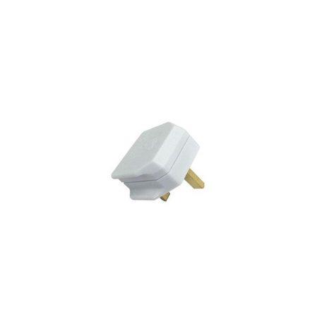 Eurolamp Φις Αρσενικό UK Λευκό - elemech.gr