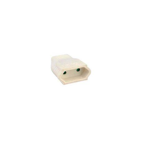 Eurolamp Φις Θηλυκό Διπολικό Λευκό 6A - elemech.gr