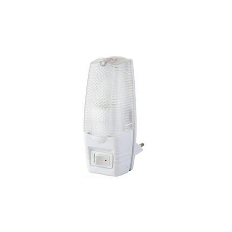 Eurolamp Φωτάκι Νυκτός Λευκό 5W με Διακόπτη - elemech.gr