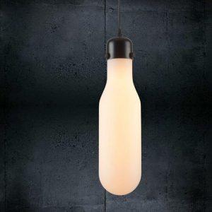 "Eurolamp Φωτιστικό Bottle Opal Φ100 E27 ""Μήλος"" - elemech.gr"