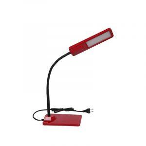 Eurolamp Φωτιστικό Γραφείου Led 6W 4000K Κόκκινο με Πλήκτρο Αφής - elemech.gr