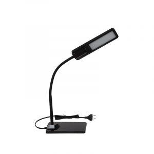Eurolamp Φωτιστικό Γραφείου Led 6W 4000K Μαύρο με Πλήκτρο Αφής - elemech.gr