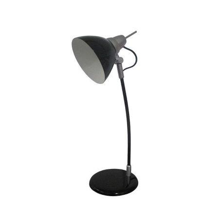 Eurolamp Φωτιστικό Γραφείου Μεταλλικό Μαύρο E14 - elemech.gr