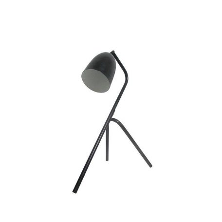 Eurolamp Φωτιστικό Γραφείου Μεταλλικό Μαύρο E27 Vintage - elemech.gr