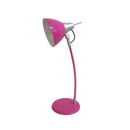 Eurolamp Φωτιστικό Γραφείου Μεταλλικό Ροζ E14 - elemech.gr