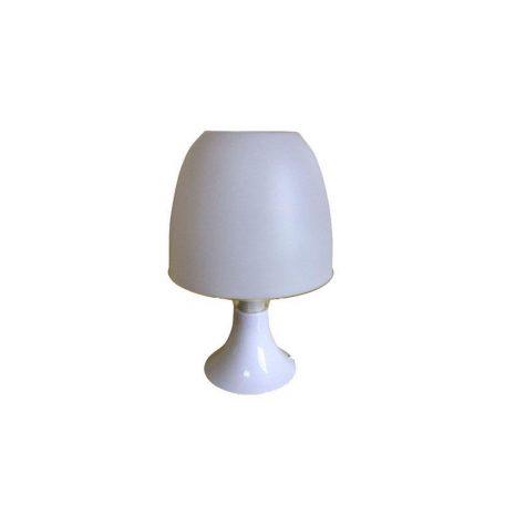 Eurolamp Φωτιστικό Πορτατίφ με Διακόπτη Μέδουσα Λευκό E14 - elemech.gr