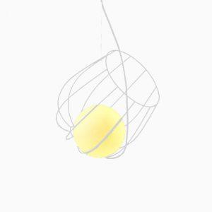 "Eurolamp Φωτιστικό Σπιράλ Φ360 Γκρι ""Νάξος"" - elemech.gr"