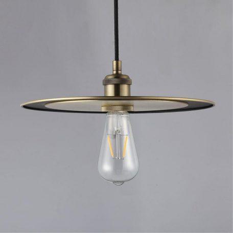 """Eurolamp Φωτιστικό Vintage Φ300 E27 Μπρονζέ """"Ίος"""" - elemech.gr"""