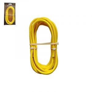 Eurolamp Καλώδιο Κορδόνι Κίτρινο 2x0.75mm 3m - elemech.gr