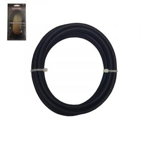 Eurolamp Καλώδιο Κορδόνι Μαύρο 2x0.75mm 3m - elemech.gr