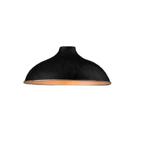 "Eurolamp Μεταλλική Σκιάδα Φ360 Μαύρη ""Σύρος"" - elemech.gr"