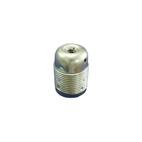 Eurolamp Ντουί Μεταλλικό 2 Δαχτυλίδια Νίκελ E27 - elemech.gr