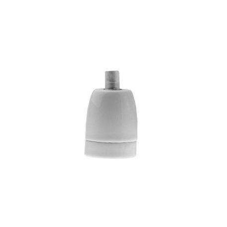 Eurolamp Ντουί Πορσελάνης Λευκό E27 - elemech.gr