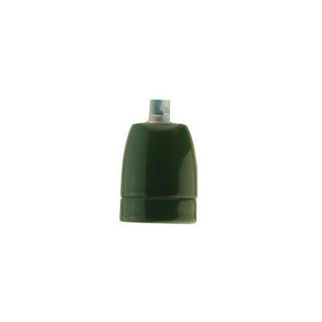 Eurolamp Ντουί Πορσελάνης Πράσινο E27 - elemech.gr