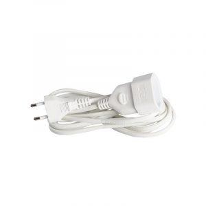 Eurolamp Προέκταση Γερμανικών Προδιαγραφών 3m 2x0,75mm - elemech.gr
